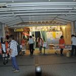 大納涼祭が行われていた旧ラジオ会館の入り口