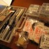 革細工のときに使用する道具