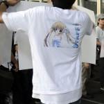 Tシャツのアップ