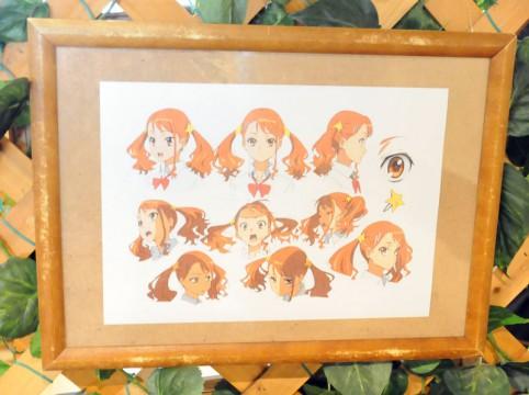 超平和バスターズ」メンバーのラフ画などが展示されています(*゚▽゚)/