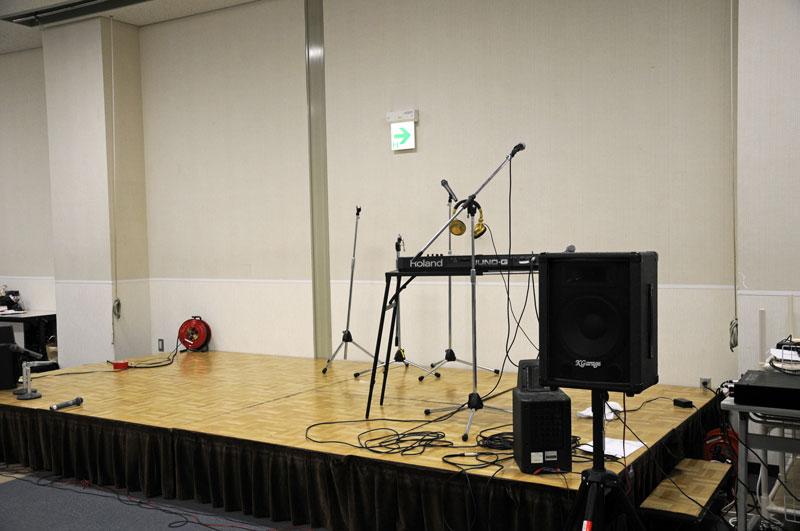 ステージを用意して参加者の一芸大会