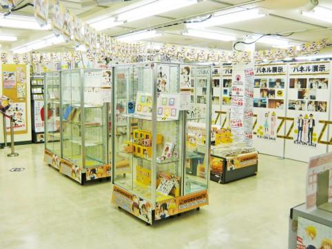 パネルやグッズ、台本などがミュージアム内で公開されている