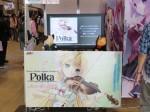 『Polka』のカバーが大判になってます。