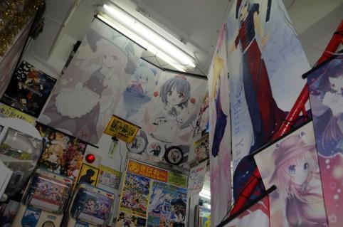 東方系や人気アニメを中心に色んな同人作家さんのタペストリーが増えてました(。^ω^)ノ゙♪