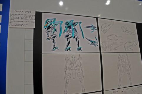 今回は設定画などが展示されていました(≧▽≦)