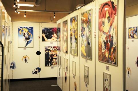 ゲーム・雑誌などの表紙で使用された絵のワンカットパネルや複製原画