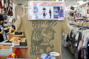 Tシャツなんかも売られてます