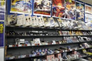 Fate/Zeroコーナーを設けてました