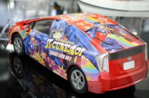 「ズキューン葵」の痛車模型