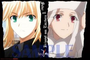 「Fate/Zero」ミニポスターサンプル1