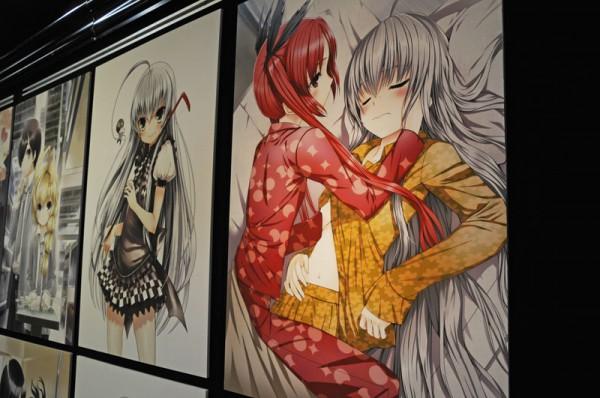 狐印氏のイラストどれも可愛い絵ばかりでした