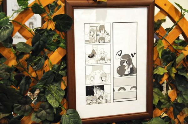 漫画の複製原画なども「あっちこっち」展示されてました(;^ω^A