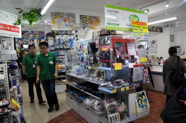 コトブキヤ秋葉原館店頭に展示してあります