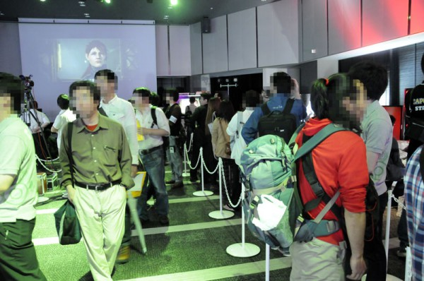 角川ゲームスやセガなど6タイトルが出展されていましたが、どこも人気でした