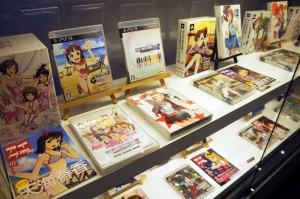 発売されたゲームやCD、Blu-ray等のパッケージ