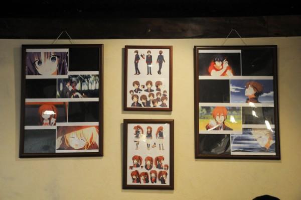 キュアメイドカフェで10月21日(日)まで「リトルバスターズカフェ」が開催されていますヽ(*´v`*)ノ